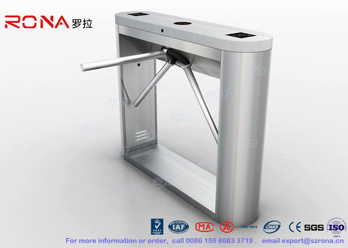 Vertical Tripod Barrier Gate , Entrance Control Solutions 30 Persons / Min