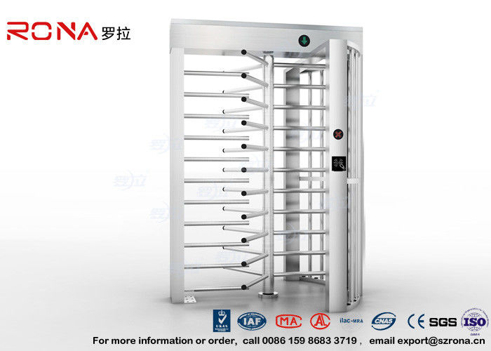 High Security Turnstile Full Height Stainless Steel Access Control For Prison