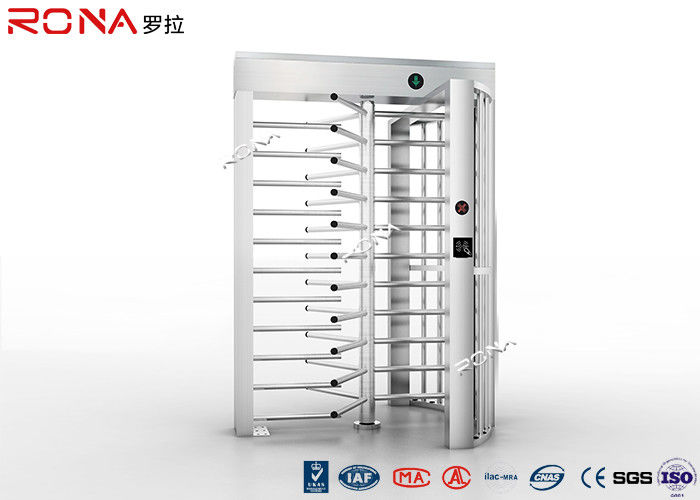 Access Control System Full Height Turnstile Stainless Steel With CE Approval