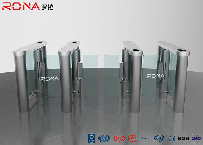 Smart Speed Pedestrian Access Control Barriers Turnstile Rfid Security Gate Barrier