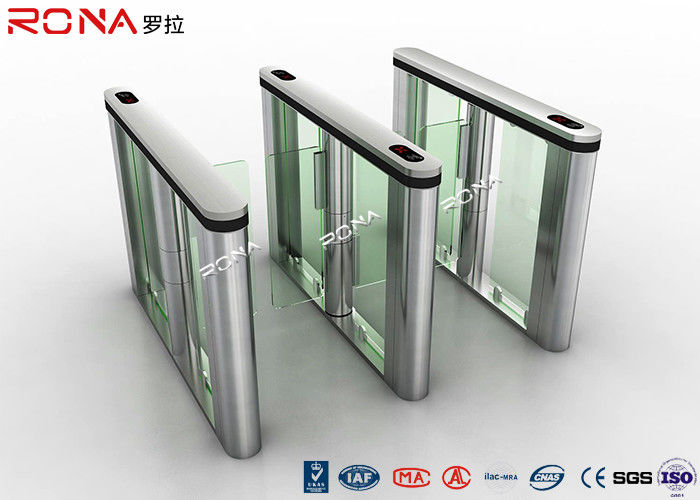RFID Reader Turnstile Access Control System Speed Gate 30~40 Persons / Min