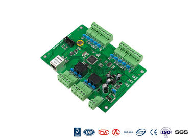 Chiny Web Standalone 2 Doors Access Entry Control Board With TCP Interface fabryka