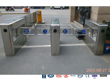 Chiny Auto Sensor Supermarket Swing Barrier Gate Door Revolving Entrance Waist High Turnstile fabryka
