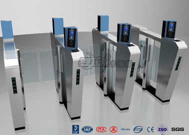 Chiny Waist Height Turnstile Security Systems , Face Recognition Speed Fastlane Turnstile fabryka